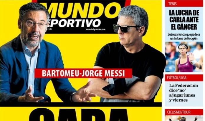 Portadas Diarios Deportivos Miércoles 2/9/2020