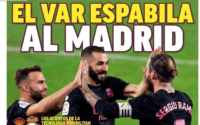Portadas Diarios Deportivos Domingo 27/09/2020