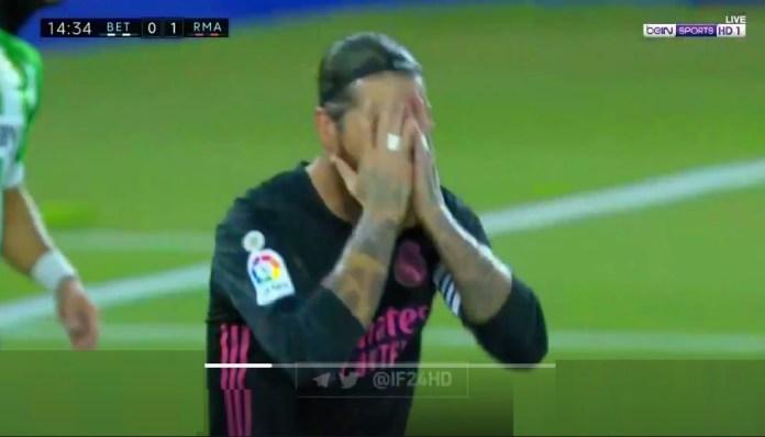 ¡Sergio Ramos se pierde un gol Imposible!