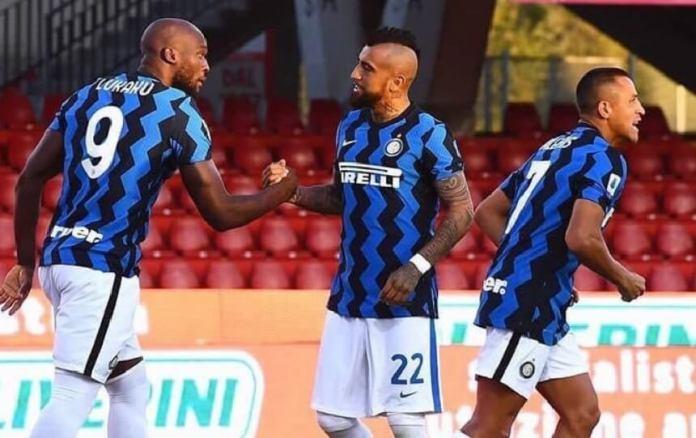 El Inter golea 2-5 al Benevento a domicilio