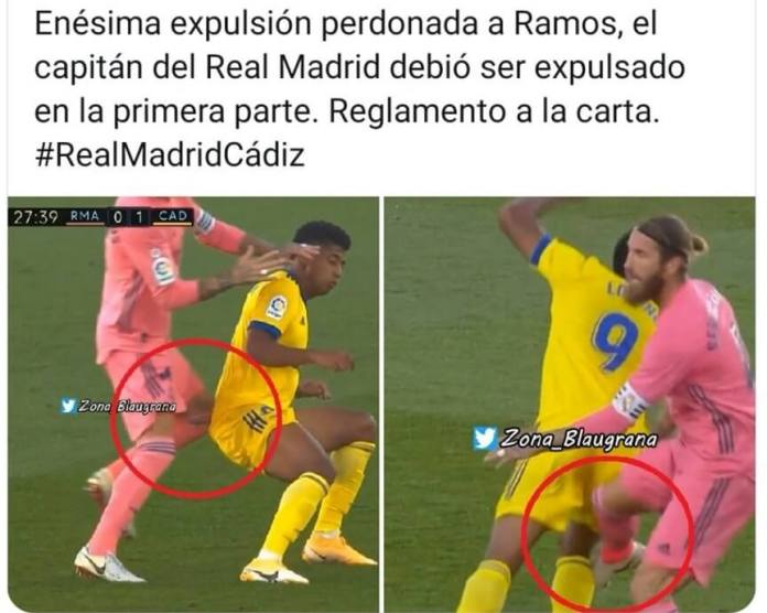 Memes Real Madrid-Cadiz 2020