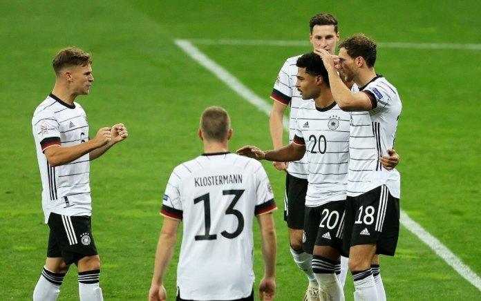 Alemania vence 1-2 a Ucrania en la Nations League