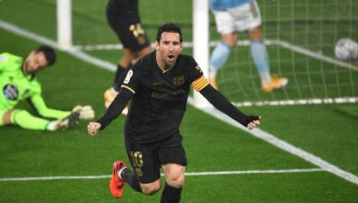 Jugadón de Messi para el Celta 0-2 Barça