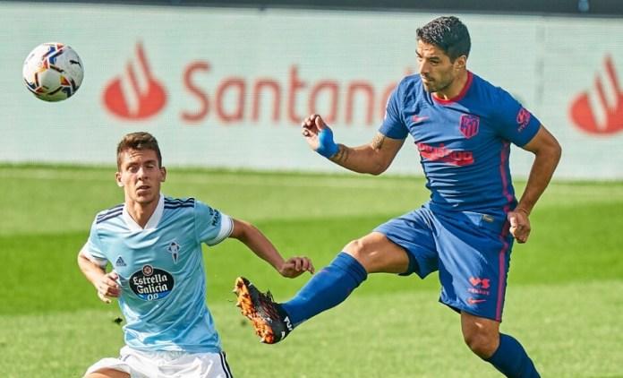 Luis Suárez vuelve al Gol en la victoria del Atlético 2-0 sobre el Celta