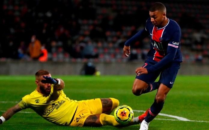 Doblete de Mbappé en el PSG 4-0 Nimes
