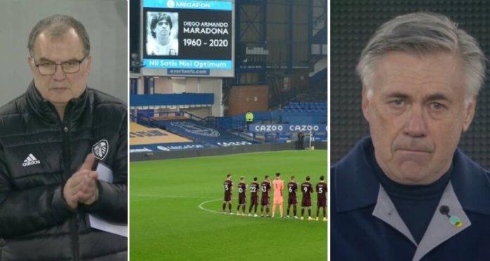 Ancelotti Hasta las lágrimas recordando a Maradona