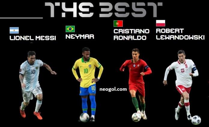 FIFA The Best 2020: Los 11 Candidatos a Mejor del Jugador del año