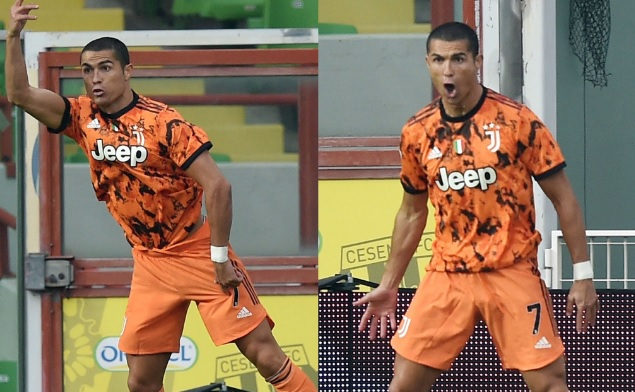 Cristiano Ronaldo vuelve con todo. Doblete y goleada