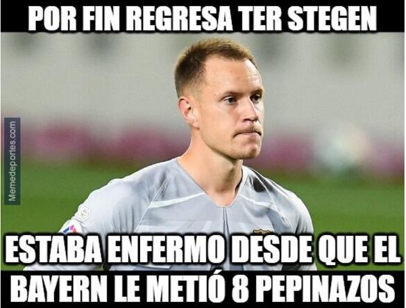 Memes Barcelona-Dinamo Kiev Champions 2020