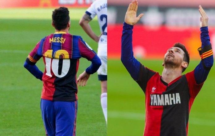 El Barça golea al Osasuna con el espíritu de Maradona