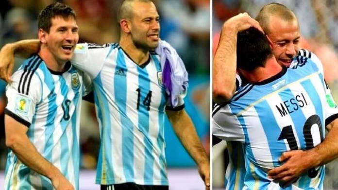 Messi se despide de Mascherano con unas emotivas palabras