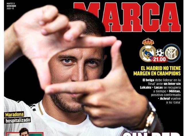Portadas Diarios Deportivos Martes 3/11/2020