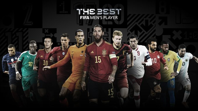 Los 11 candidatos al  FIFA The Best 2020