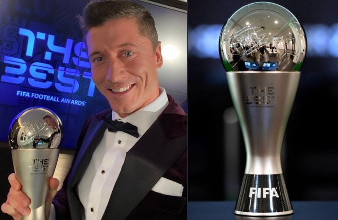 Lewandowski gana el FIFA The Best 2020