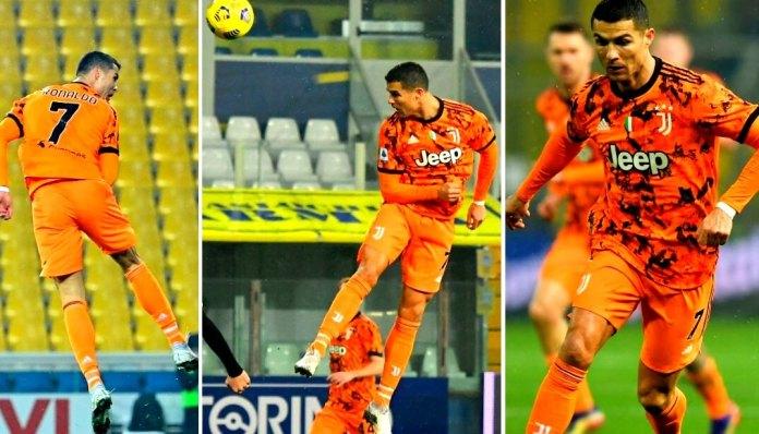 Doblete de Cristiano 'Air' Ronaldo