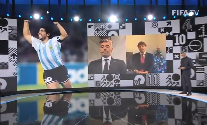 maradona goycochea fifa the best