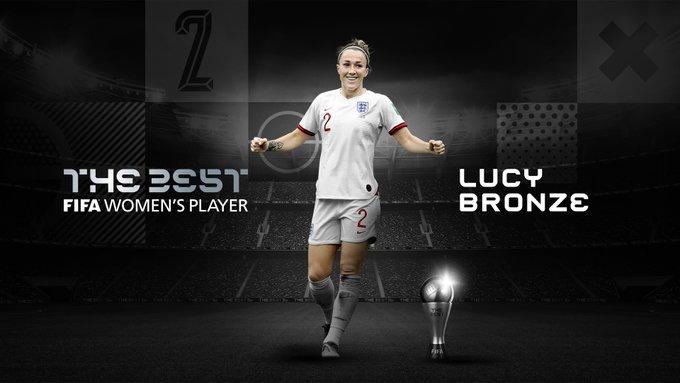 Lucy Bronze The Best a la mejor jugadora de la FIFA 2020