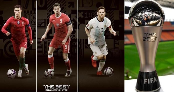The Best 2020: Cristiano, Messi y Lewandowski finalistas