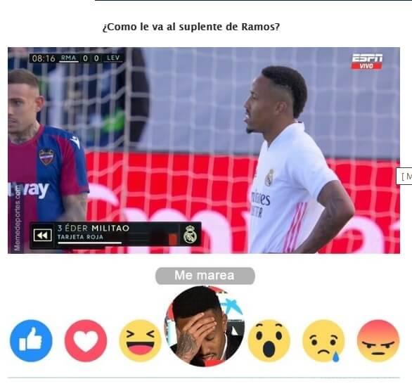 Memes Real Madrid-Levante 2021