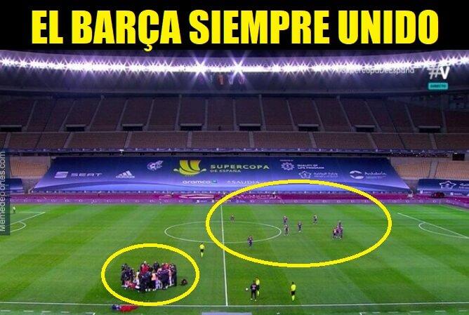 Memes Barcelona-Athletic Supercopa 2021