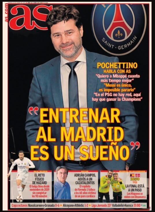 Portadas Diarios Deportivos Viernes 29/1/2021