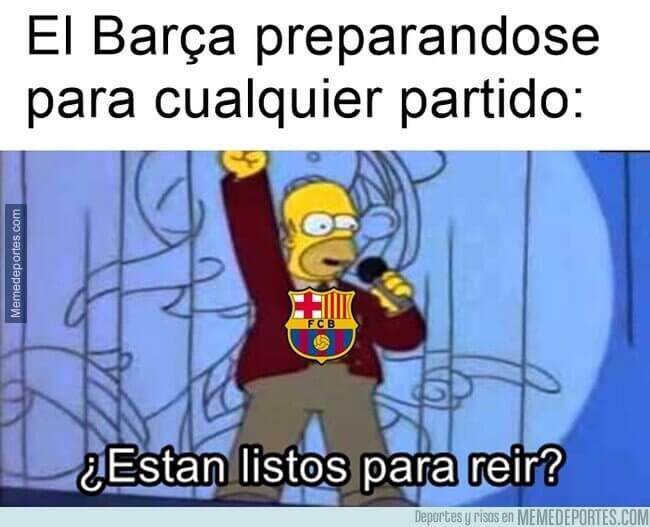 Memes Sevilla-Barcelona 2021