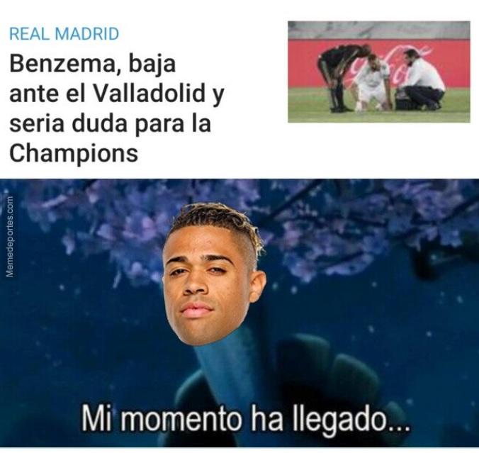 Memes Valladolid-Real Madrid 2021