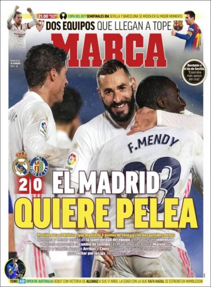 Portadas Diarios Deportivos Miércoles 10/2/2021
