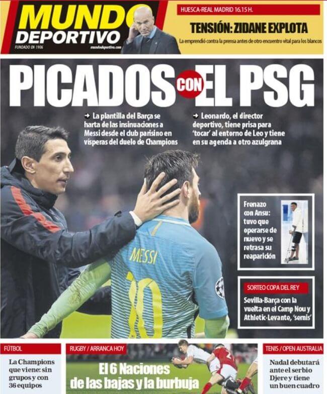 Portadas Diarios Deportivos Sábado 6/2/2021