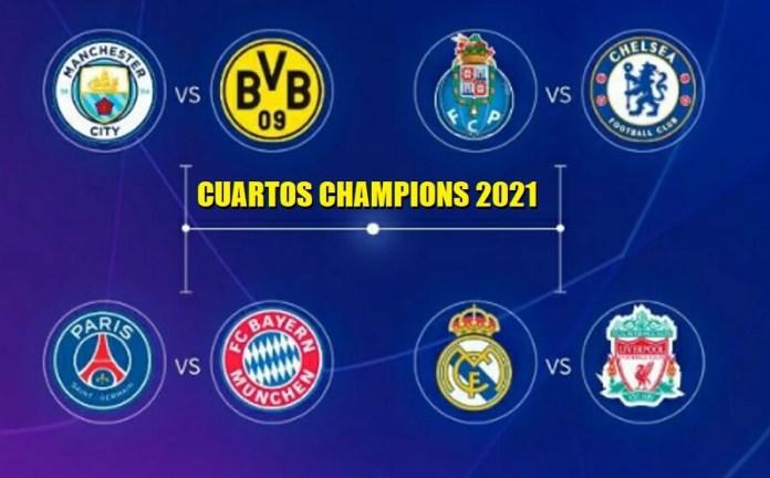 Cuartos Champions 2020-2021