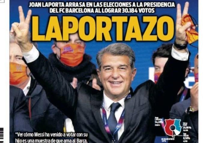 Portadas Diarios Deportivos Lunes 8/3/2021