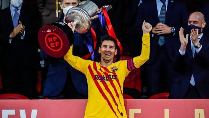 El Barça Campeón de la Copa del Rey 2021