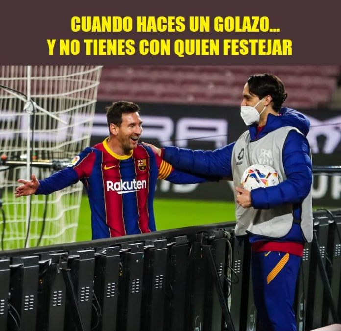 Memes Barcelona-Getafe 2021