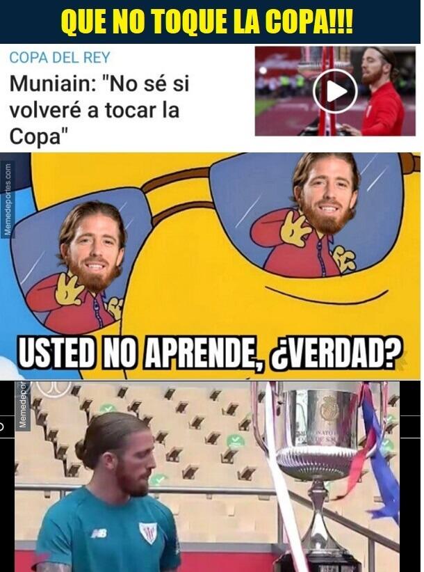 Memes Athletic-Barcelona Final Copa del Rey 2021