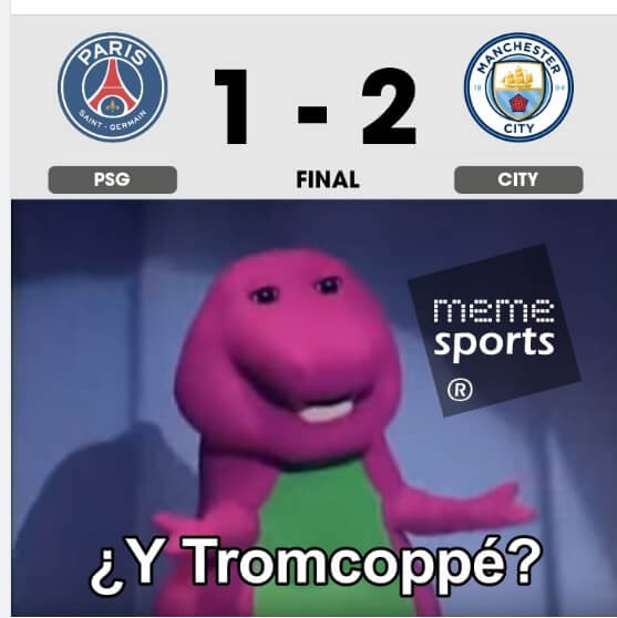 Memes PSG-Manchester City Champions 2021