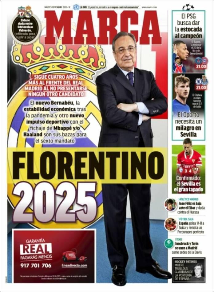 Portadas Diarios Deportivos Martes 13/4/2021