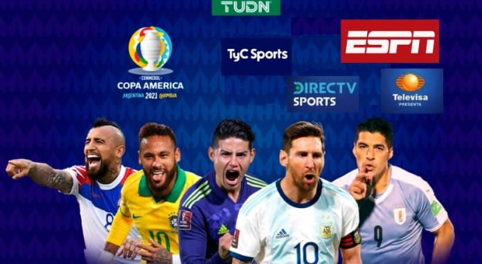 Dónde Televisan la Copa América 2021
