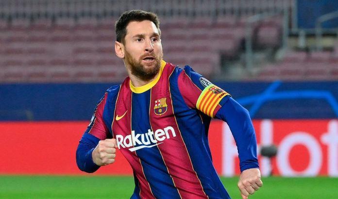 Leo Messi Pichichi de la Liga Española 2021