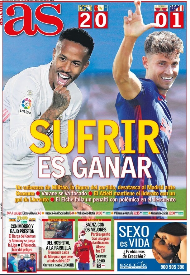 Portadas Diarios Deportivos Domingo 2/5/2021