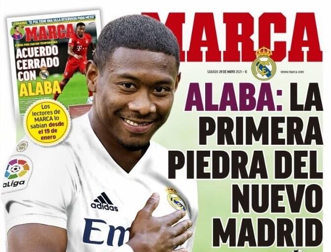 Portadas Diarios Deportivos Sábado 29/5/2021