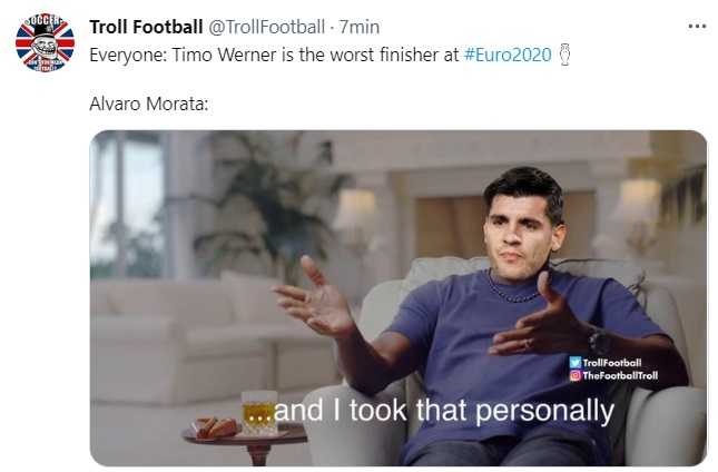 Memes España-Eslovaquia Eurocopa 2021