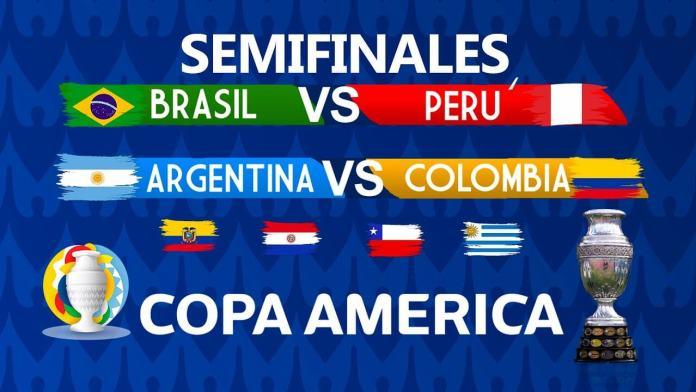 Alineaciones Semifinales Copa América 2021
