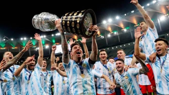 Argentina Campeón Copa América 2021 Estadio Maracaná