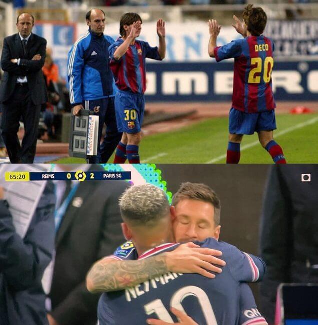 Memes Reims-PSG | El debut de Messi
