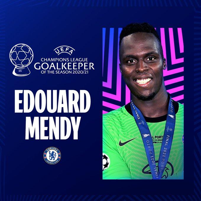 Edouard Mendy (Chelsea) Mejor Portero 2020-2021