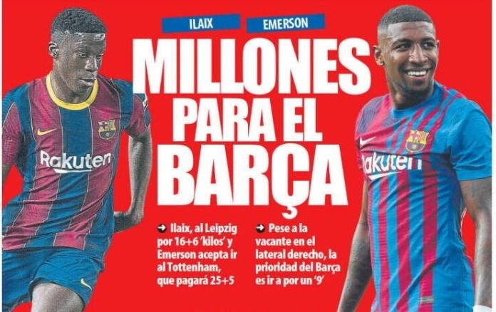 Portadas Diarios Deportivos Martes 31/8/2021