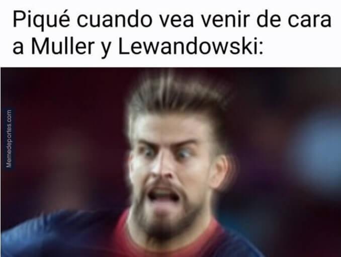 Memes Barcelona-Bayern Munich Champions Jornada 1