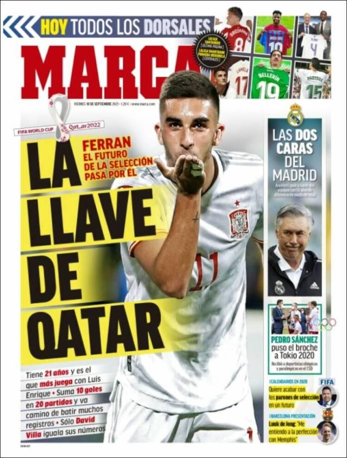 Portadas Deportivas de España 10/9/2021