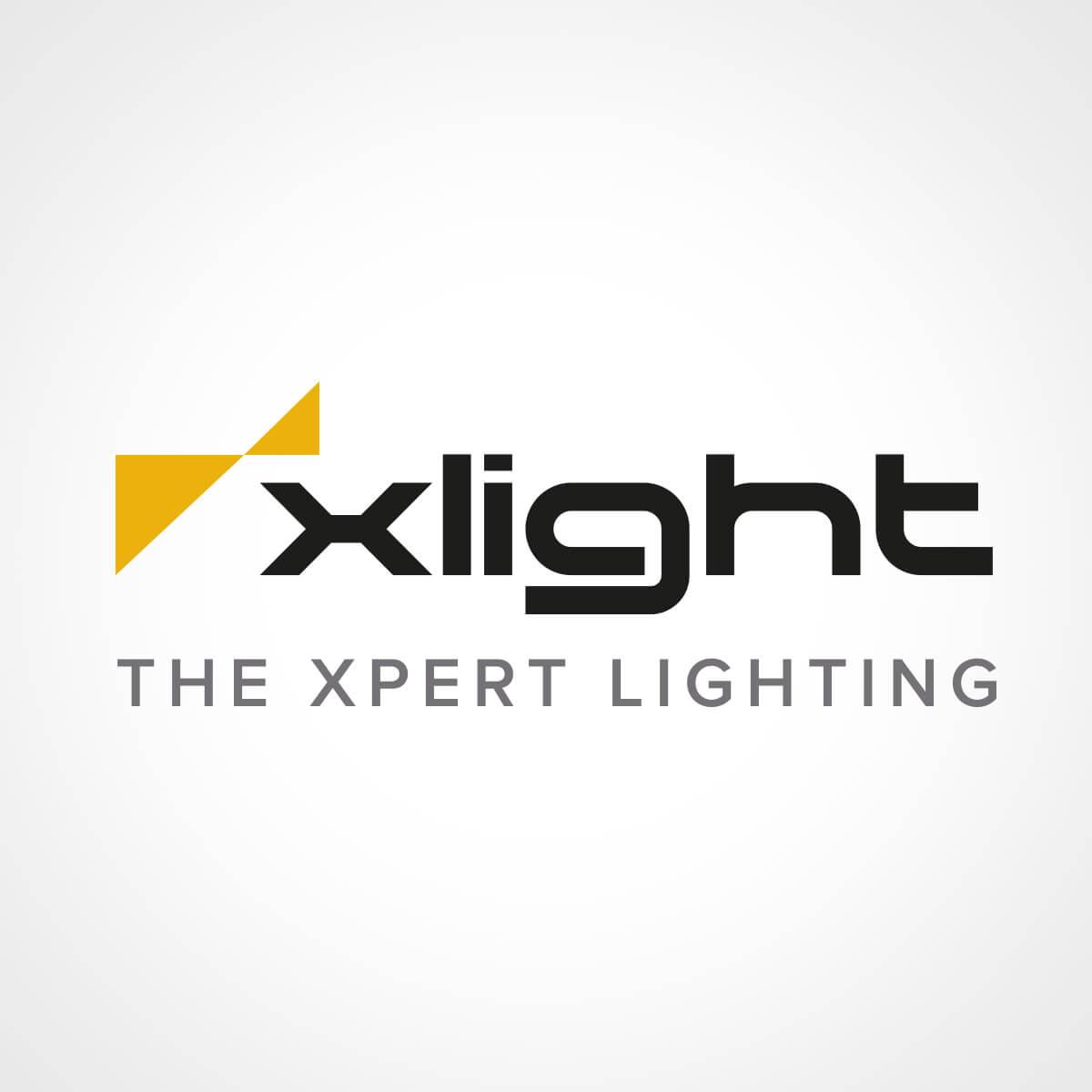 XLight logo design