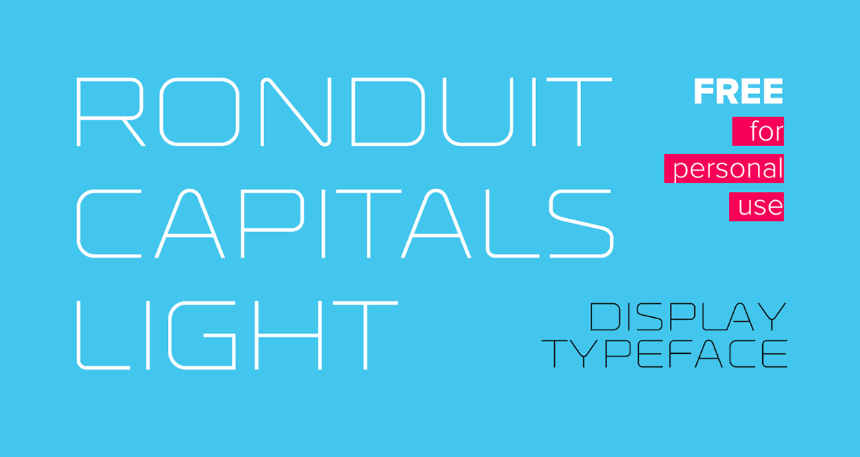 Ronduit Capitals Light Sample